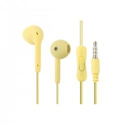 Auricular 3.5 mm U88 color amarillo