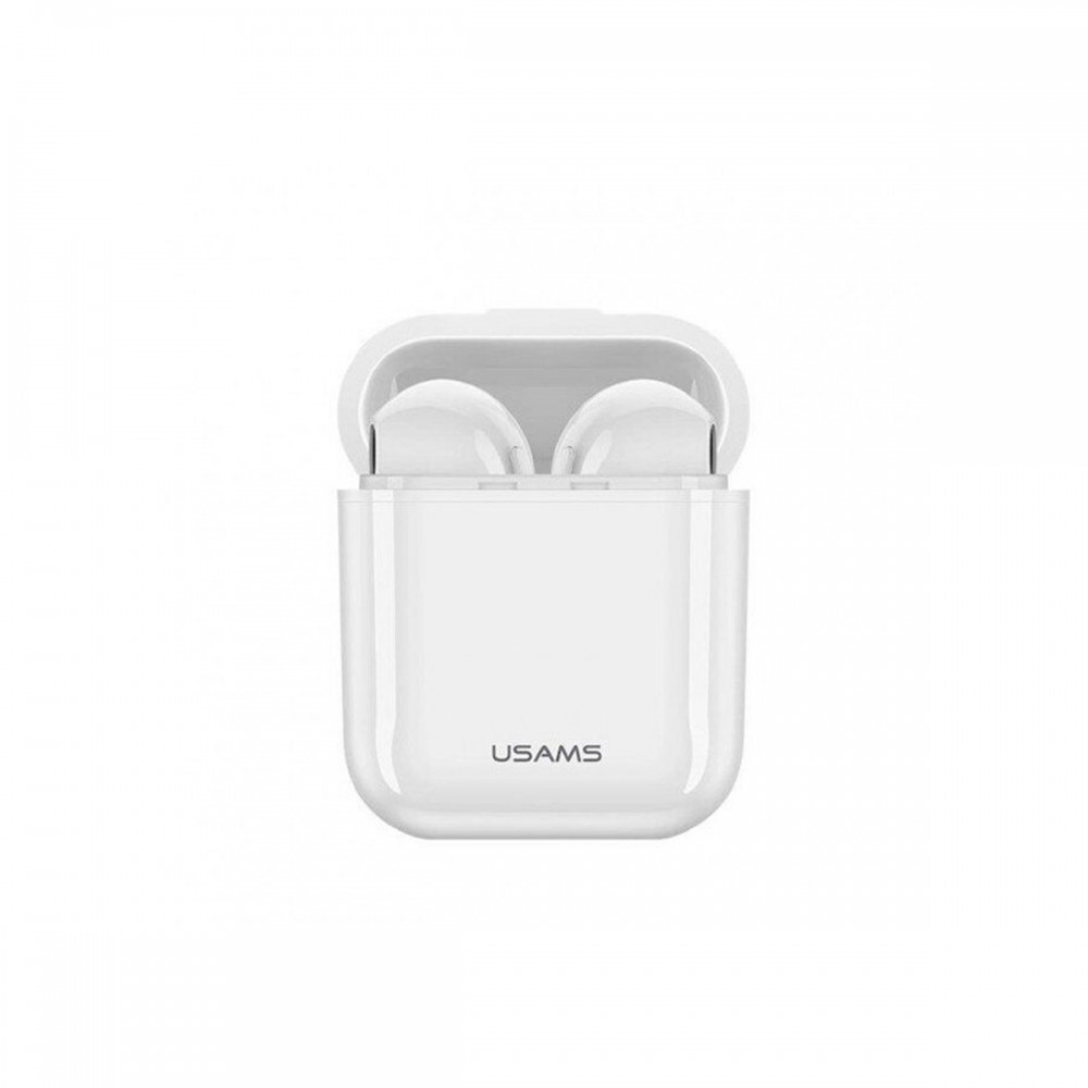 Auriculares inalámbricos USAMS color blanco